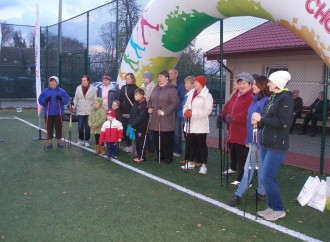 Nordic walking na Orliku