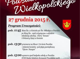 Rocznica Powstania Wielkopolskiego – zaproszenie