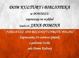 Jubileusz 1050. rocznicy Chrztu Polski – zaproszenie