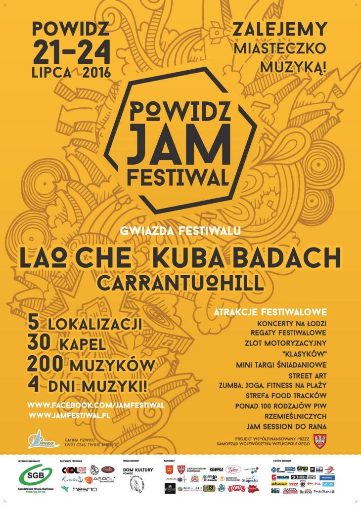 jamfestiwal 2016 plakat