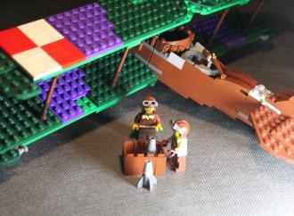 Powstańcza wystawa zklocków Lego wPowidzu