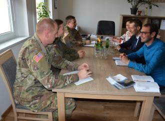 Wizyta amerykańskich żołnierzy