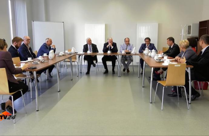 Spotkanie samorządowców zWicepremierem Gowinem