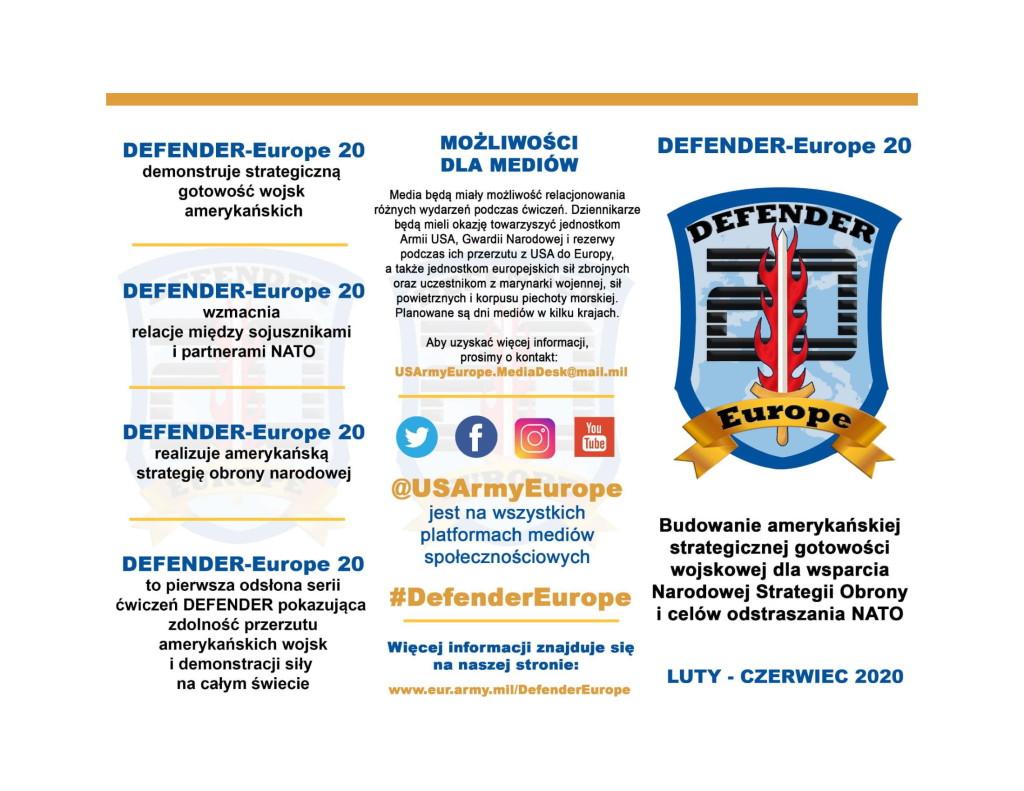 DefenderEurope20 Więcej Informacji-1