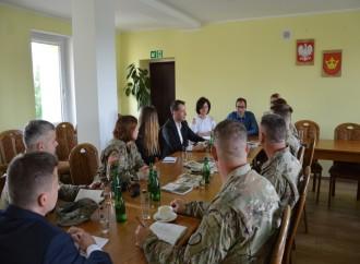 Wizyta dowództwa jednostek armii USA