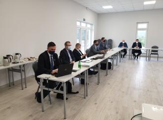 Spotkanie zprzedstawicielami PPGW Wody Polskie orazZE PAK