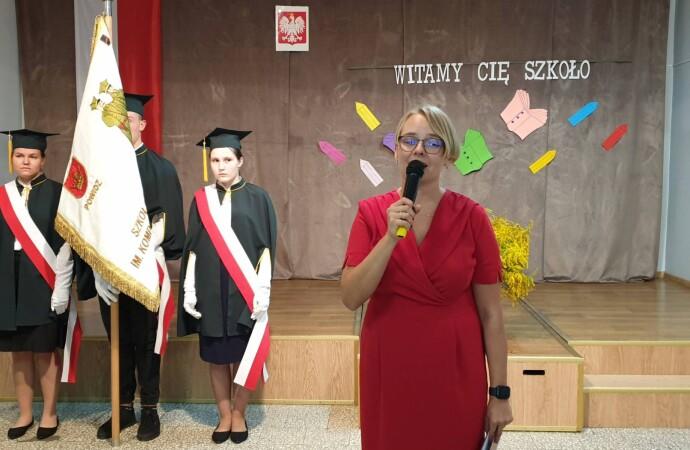 Nowy rok szkolny znową dyrektor placówki